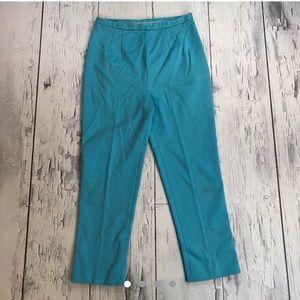 Vintage 70's bell bottom pants sky blue colorway